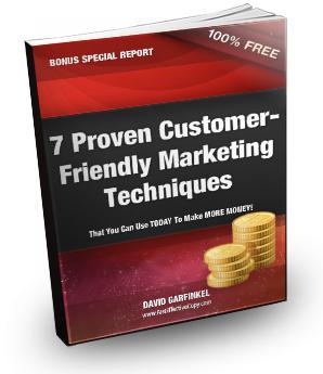 Customer Friendly Marketing